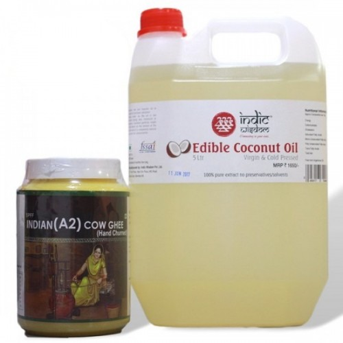 Combo-019 (Coconut Oil & Ghee)