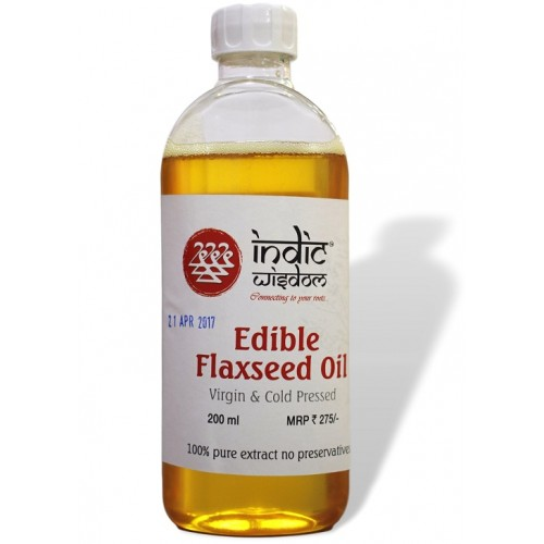 Cold Pressed Flaxseed Oil (200ml)